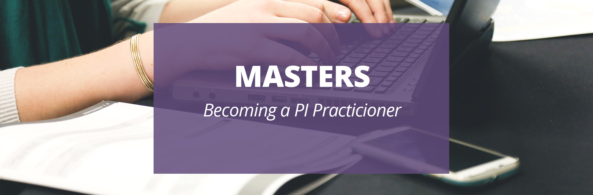 Becoming a PI Practitioner